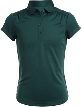 Chaps Girls 4-16 & Plus Size School Uniform Performance Polo