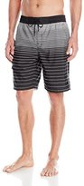 Kenneth Cole New York Kenneth Cole NY Men's Horizon Stripe Volley Short