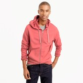 J.Crew French terry full-zip hoodie