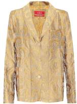 F.R.S For Restless Sleepers Jacquard blazer