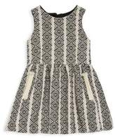 Chloé Sleeveless French Jacquard Dress
