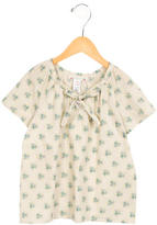 Bonpoint Girls' Printed Short Sleeve Top w/ Tags