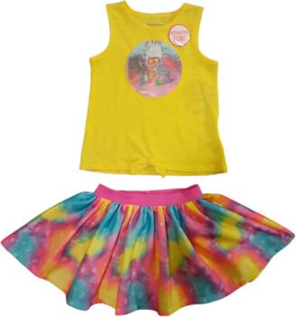 Trolls Toddler Girl Tank Top & Tutu Skirt, 2 pc Outfit Set