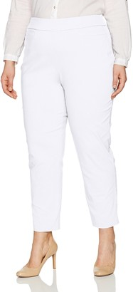Alfred Dunner Women's Missy Short Stretch Pants