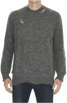Alexander McQueen Distressed Details Mohair Sweater