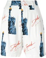 Joyrich Statue of Liberty print shorts