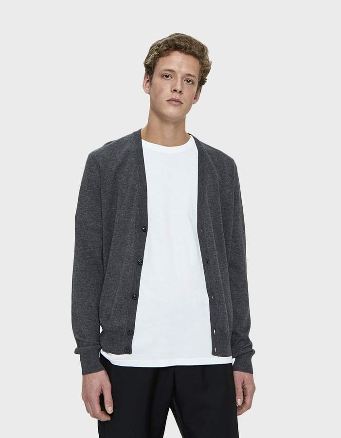 Maison Margiela Knit Cardigan with Elbow Patches