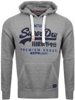 Superdry Premium Goods Hoodie Grey