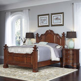 Asstd National Brand Rothwell Bed and 2 Nightstands