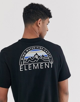 Element Odyssey t-shirt in black