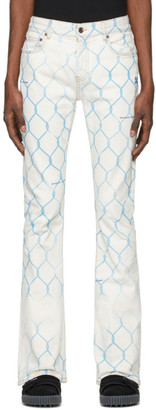 Off-White Off White  Fence Stacked Skinny Jeans
