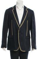 Dolce & Gabbana Linen Single-Button Blazer w/ Tags
