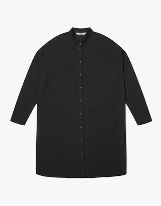 Wemoto Black Elson Dress Shirt - S | black - Black/Black