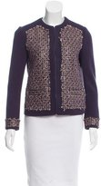 Tory Burch Sequin-Accented Tweed Jacket