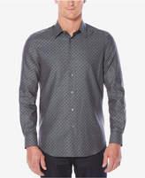 Perry Ellis Men's Classic-Fit Herringbone Shirt