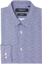 Kenneth Cole Penn Slim Fit Wire Print Shirt