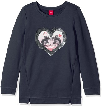 S'Oliver Girl's 53.710.41.3151 Sweatshirt