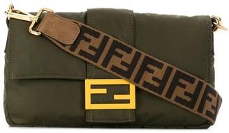 Fendi Logo Strap Messenger Bag