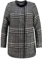 Junarose JRCHECKI Classic coat black