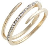 Judith Jack Women's Crystal Wrap Ring