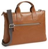 Skagen Men's 'Kruse' Leather Briefcase - Brown