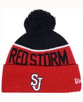 New Era St John's Red Storm Sport Knit Hat