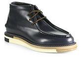 Fendi Leather Chukka Boots