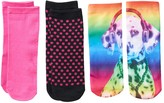 Fashion Angels 3-pk. Photorealistic No-Show Socks - Girls