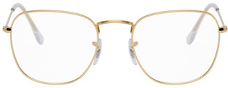 Ray-Ban Gold Frank Glasses
