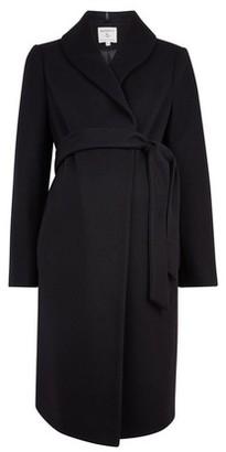 Dorothy Perkins Womens Dp Maternity Black Coat, Black