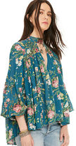 Denim & Supply Ralph Lauren Floral-Print Gauze Blouse