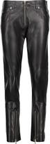 MM6 MAISON MARGIELA Leather skinny pants