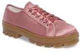 Topshop Women's Clover Satin Sneaker
