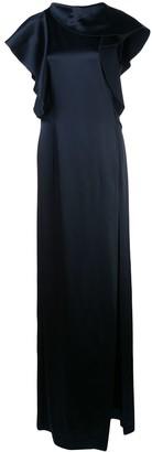 Oscar de la Renta Ruffled Gown