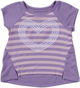 Design History Striped Hi-Lo Top (Toddler/Kids) - Amethyst-6x