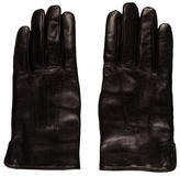 A.P.C. Wool-Trimmed Leather Gloves