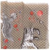 Gucci Space Animals print shawl