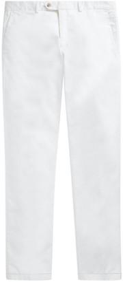 Ralph Lauren Purple Label Eaton Flat-Front Pants