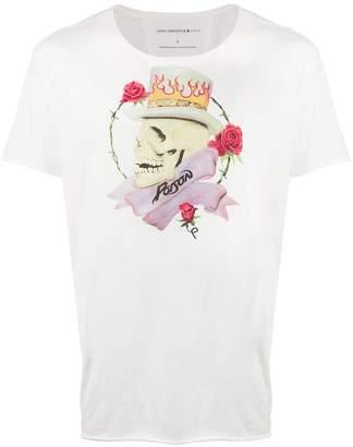 John Varvatos skull print T-shirt