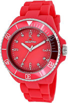 Seapro Sea Bubble Womens Pink Silicone Strap Watch
