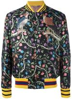 Gucci floral bomber jacket - men - Silk/Cotton/Cupro - 48