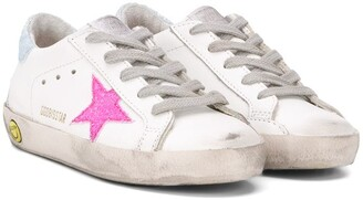 SuperStar lace-up trainers