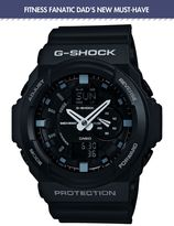 G-shock G-shock Ga-150-1aer Black Sports Watch