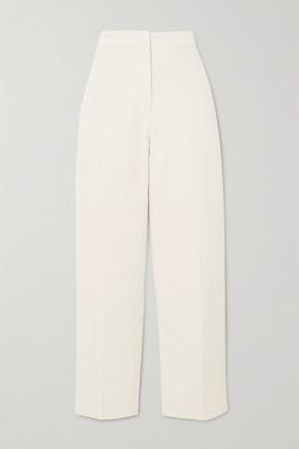 LVIR Cotton-twill Tapered Pants - Cream