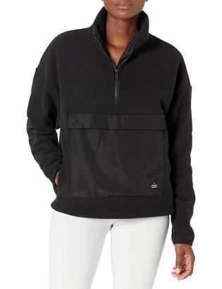 Alo Yoga Women's Blackcomb Pullover Fleece Jacket