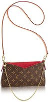 Louis Vuitton Authentic Monogram Canvas Pallas Clutch Handbag Article: M41638 Made in France