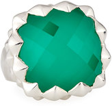 Stephen Webster Superstud Square Synthetic Chrysoprase Doublet Ring, Size 6.75