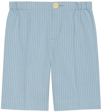 Gucci Baby striped cotton pants