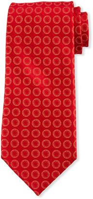 Charvet Men's Sanded Circles Silk Tie