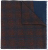 Corneliani checked scarf - men - Wool - One Size
